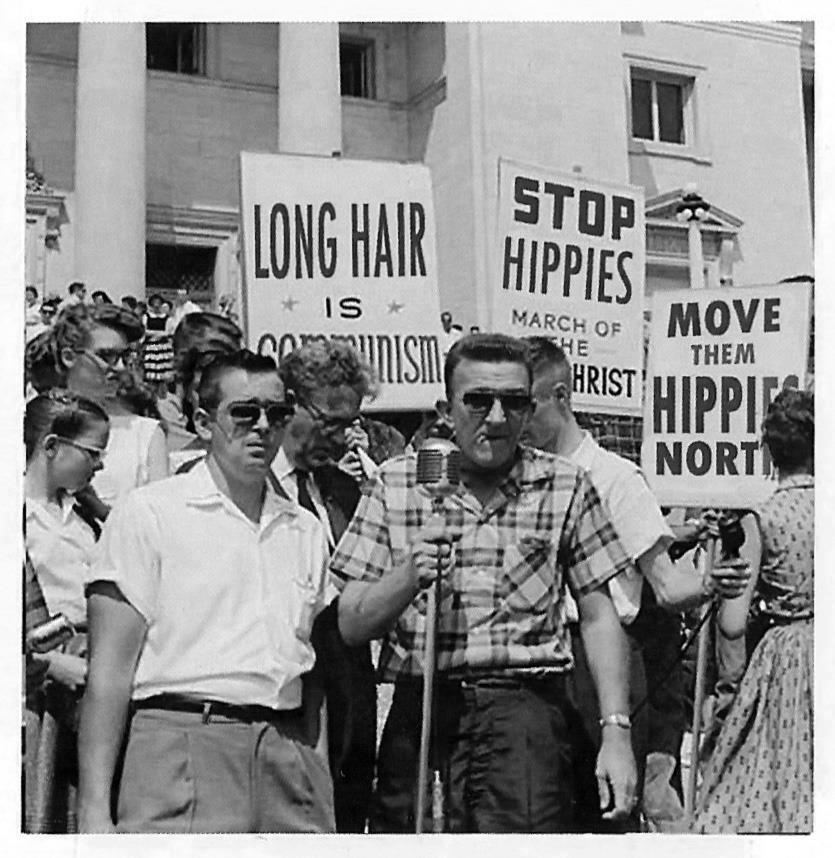 Cause and Effect of the s Hippie Movement